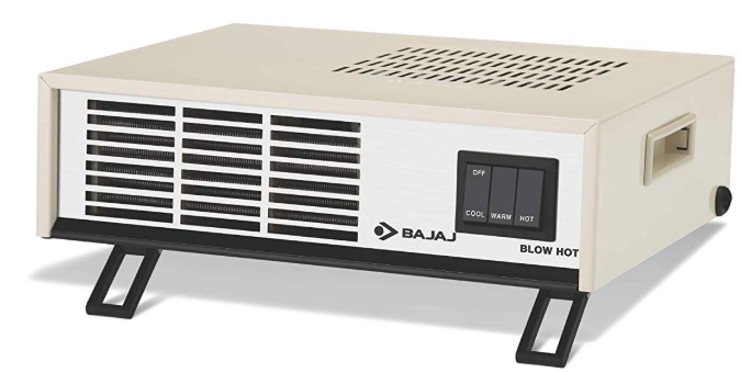bajaj blow hot 2000-watt room heater price