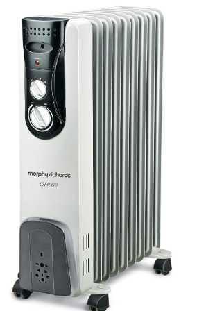 morphy richards ofr 09 oil filled room heater