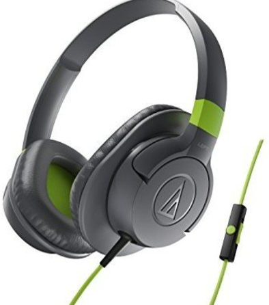 Audio-Technica Sonic Fuel ATH-AX1iS GY Sonic Fuel Over-Ear Headphones