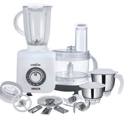 INALSA CRAZE DX 700W FOOD PROCESSOR