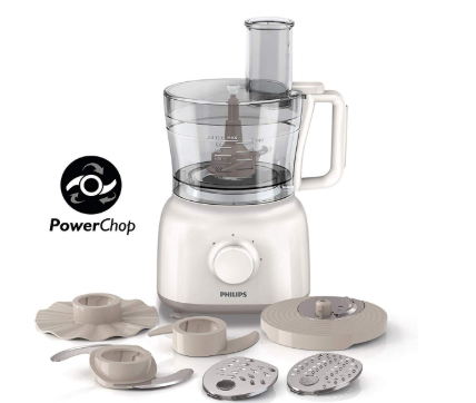 PHILIPS HR7627 00 650 W FOOD PROCESSOR