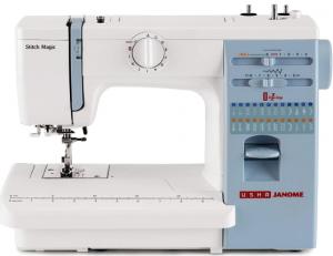 USHA JANOME STITCH MAGIC SEWING MACHINE reviews