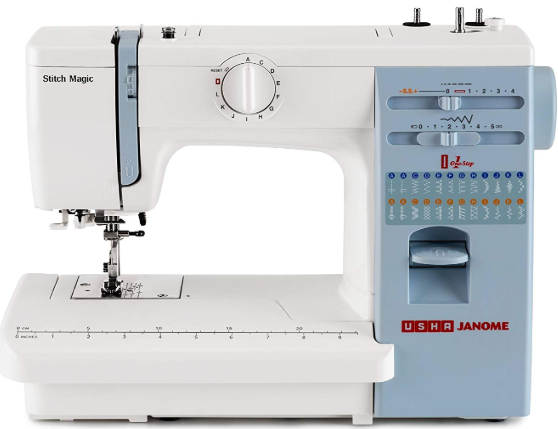 USHA JANOME STITCH MAGIC SEWING MACHINE reviews