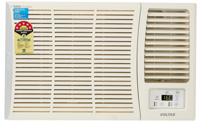 Voltas 1 Ton 5 Star Window AC (Copper, 125 DY 125 DZA, White)