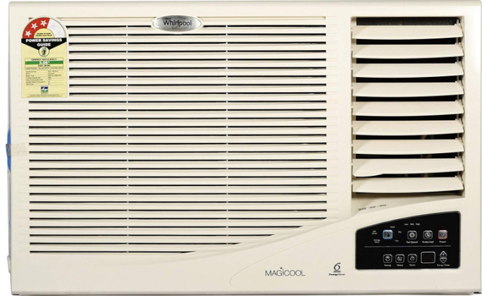 Whirlpool 1.5 Ton 3 Star Window AC (Copper, Magicool, White)
