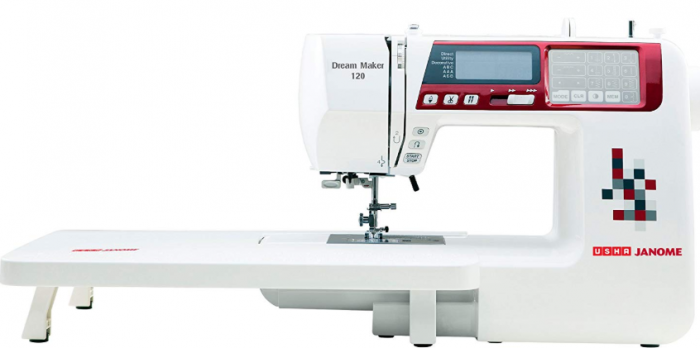 usha janome dream maker 120 35-watt computerized sewing machine reviews