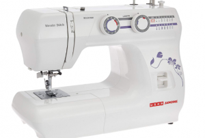 usha janome wonder stitch sewing machine reviews